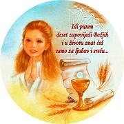 cestitke za svetu pricest Krštenja, Prva pričest, Sv. potvrda « Veseli dućan cestitke za svetu pricest