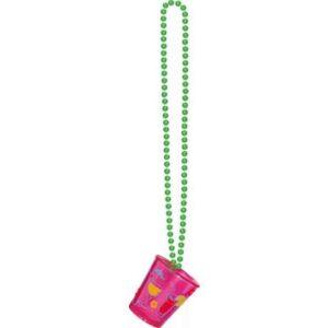 havajska ogrlica s čašicom