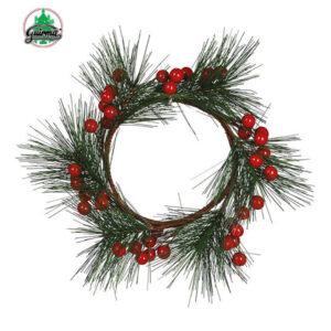 Božični vjenčić bobice 15 cm