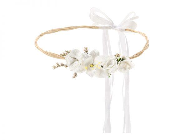 Cvijetni vjenčić bijeli