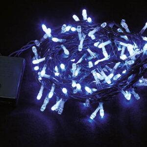 Led lampice plave 50 kom