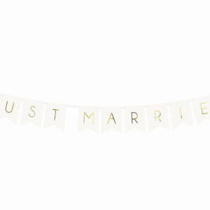 banner just married