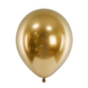 chrome baloni zlatni sjajni