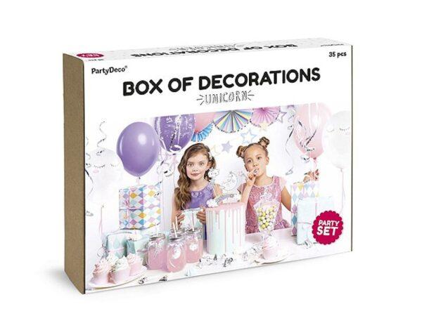 party set unicorn dekoracije