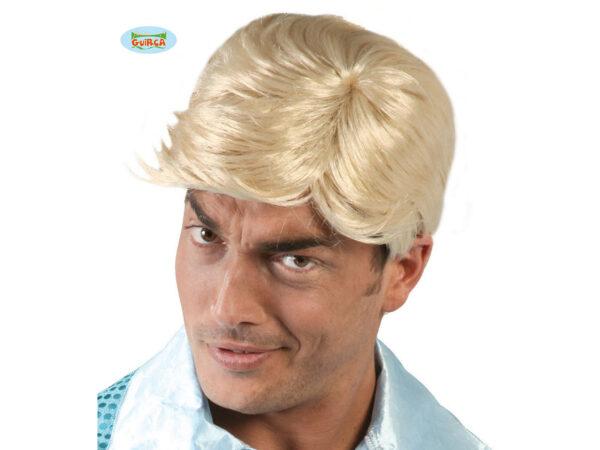 muška blond perika