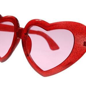 naočale crvena srca