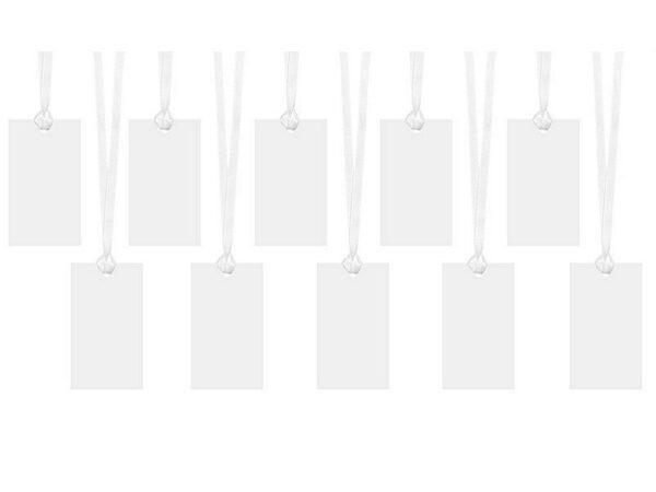 oznake za poklone pearl bijela