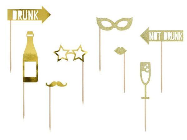 rekviziti za slikanje šampanjac
