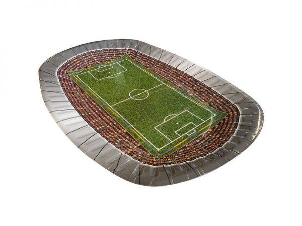 nogometni stadion plate