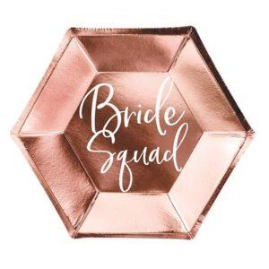 papirnati tanjuri bride squad