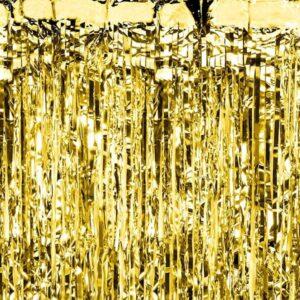 party zastor zlatni