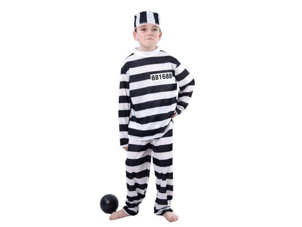 Dječji kostim zatvorenik
